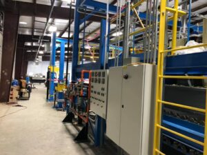Industrial electrical work at RMG Electrical, Inc in Houston, Texas