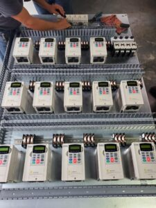 Custom control panels service at RMG Electrical, Inc in Houston, Texas